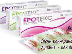 Свечи контрацептивы лучшие - как выбрать
