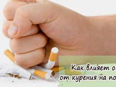 Как влияет отказ от курения на потенцию