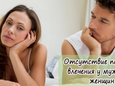 Отсутствие полового влечения у мужчин и женщин