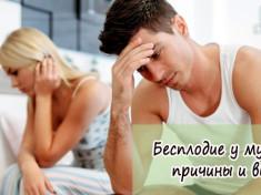 Бесплодие у мужчин: причины
