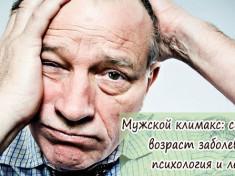 Мужской климакс